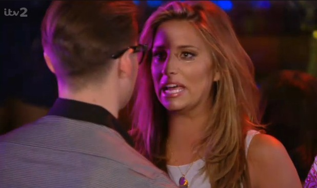 Ferne McCann confronts Charlie Sims in a nightclub in Las Vegas - 10 October 2013