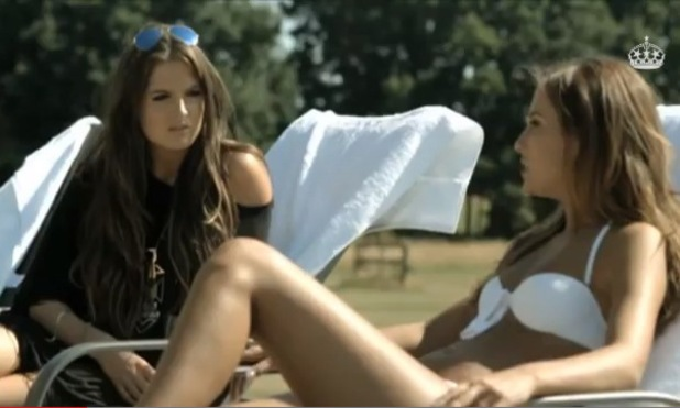 Made In Chelsea's Lucy Watson and Binky Felstead (Series 6, Episode 1 - Monday 14 October 2013)