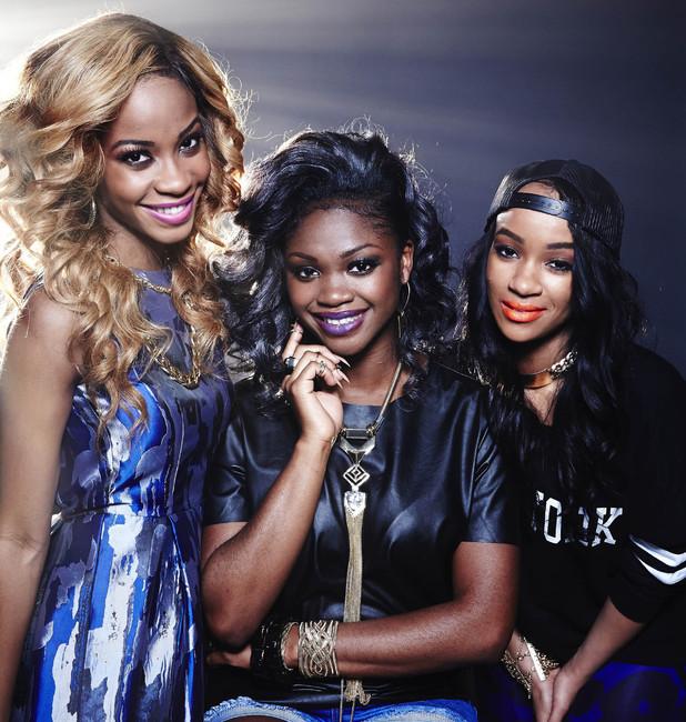 X Factor Top 12 contestants Miss Dynamix