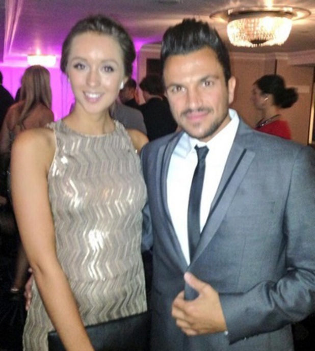Peter Andre and Emily MacDonagh, Pride of Britain Awards held at the Grosvenor House - Arrivals, 7 October 2013