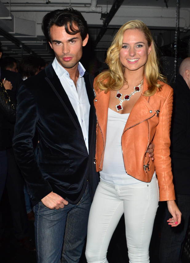 Kimberly Garner at the ITV Unsigned: The Complete Package party at Ink club with Mark-Francis Vandelli - 10.10.2013