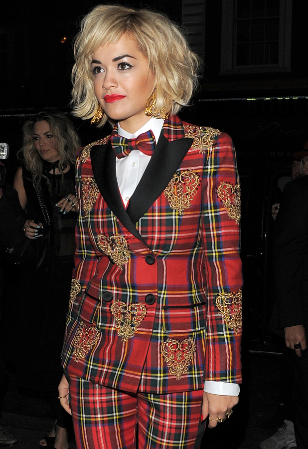 Rita Ora at the Rimmel 180 Years of Cool Party in London - 10 October 2013