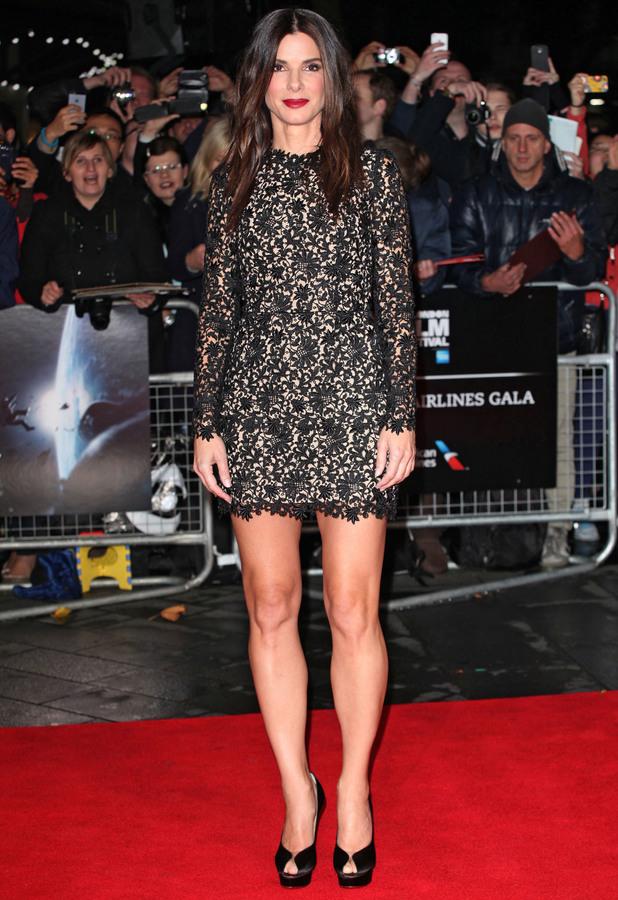 Sandra Bullock - 'Gravity' Premiere, BFI London Film Festival 2013, 10 October 2013
