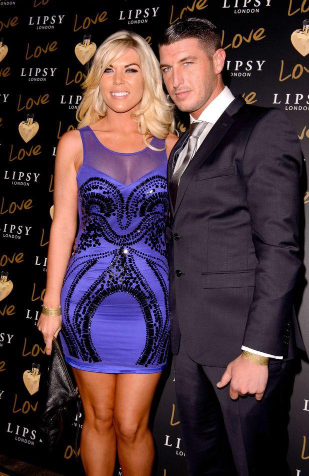 Frankie Essex with her boyfriend John Lyons 6 Nov 2012