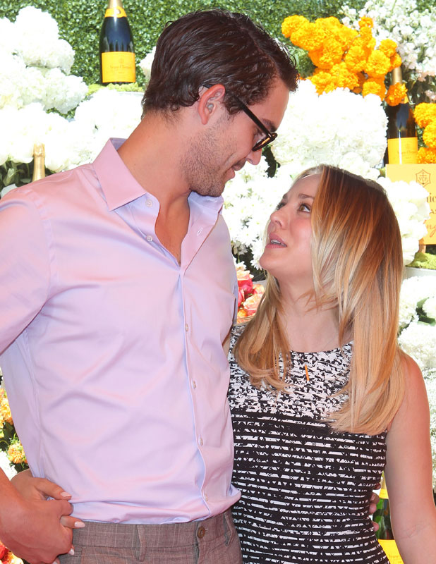 Kaley Cuoco and Ryan Sweeting, The Fourth-Annual Veuve Clicquot Polo Classic Held at Will Roger's Polo Grounds, 5 October 2013