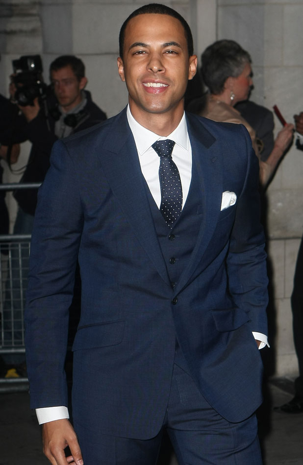 Marvin Humes at the Pride of Britain Awards, 7 October 2013