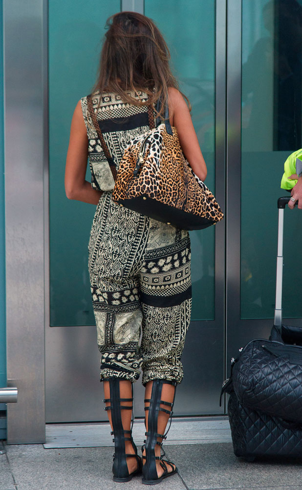 Nicole Scherzinger at Heathrow Airport, London, Britain - 07 Oct 2013