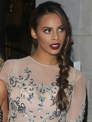 The Saturdays' Rochelle Humes at the Pride of Britain Awards, 7 October 2013
