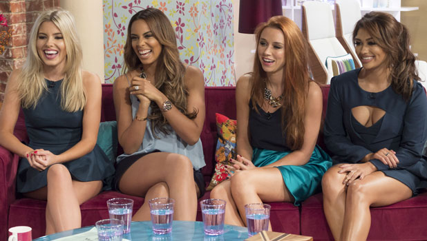 The Saturdays - Mollie King, Rochelle Humes, Una Healy and Vanessa White 9 Oct 2013