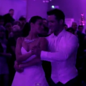 McFly's Harry Judd has shared a video of his first dance from his wedding to his wife Izzy Johnston.