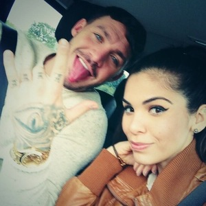 Kirk Norcross and Cami Li head off to book the venue for their wedding: October 2013