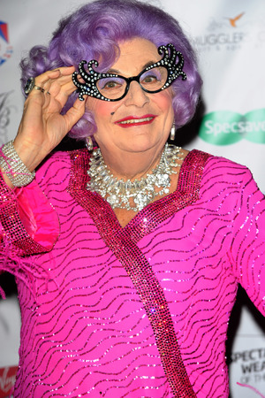 Dame Edna Everage attends The Specsavers' Spectacle Wearer of the Year 2013 at the Royal Opera House, 2013