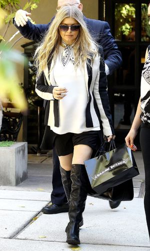 Fergie Duhamel out and about in Los Angeles, America - 17 Oct 2013