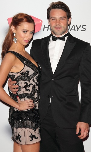 Una Healy and Ben Foden at Attitude Magazine Awards 2013 held at the Royal Courts of Justice - 15 October 2013