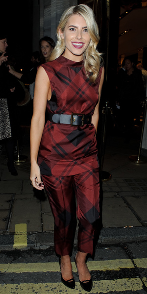 Mollie King - at Gucci event and dinner at the Old Bond Street, London - 16 October 2013