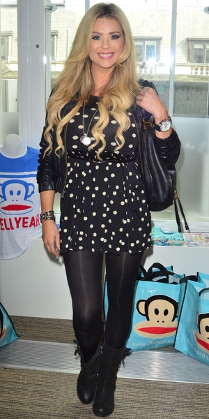 Sophie Anderton and Nicola McLean at the Paul Frank gifting event. Paul Frank launches their new children's range - 15 October 2013