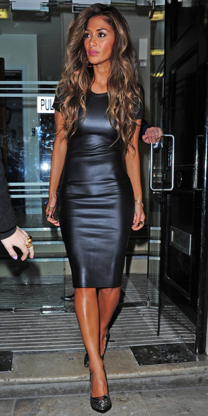 Nicole Scherzinger leaving the Arts Club in Mayfair - 16 October 2013