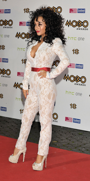 Chelsee Healey attends The MOBO Awards 2013 held at The SSE Hydro, Oct 19 2013
