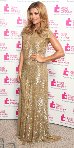 Zoe Hardman - Pink Ribbon Ball in aid of Breast Cancer Campaign at the Dorchester Hotel Park Lane London, 12 October 2013