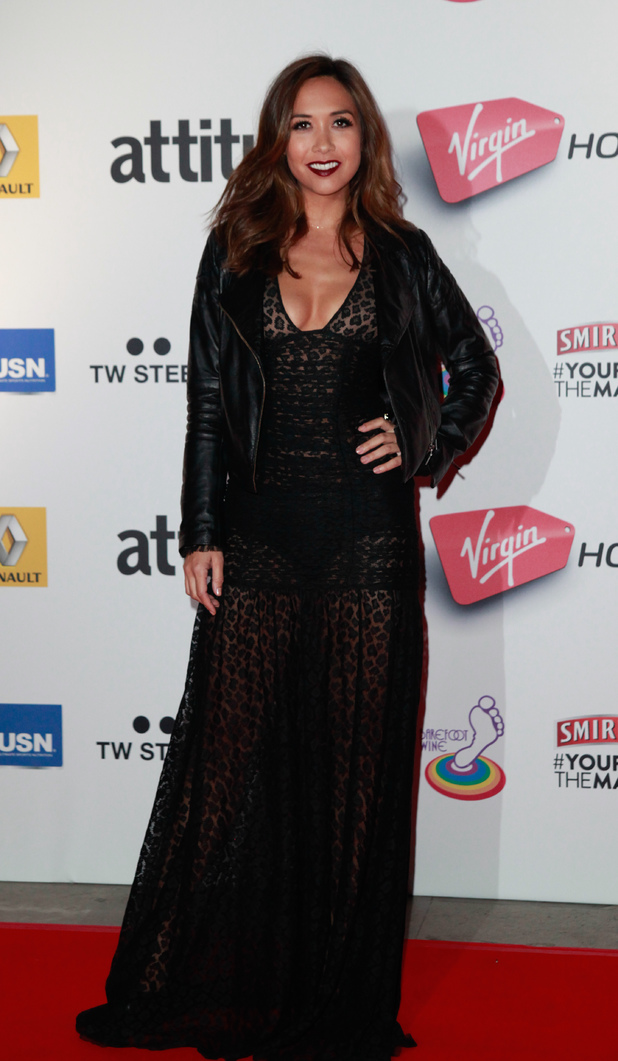 The 2013 attitude Awards at the Royal Courts of Justice, London - 15.10.2013 Myleene Klass