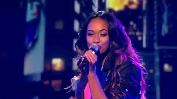 X Factor Tamera Foster - week one - 80s week