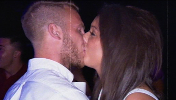 Geordie Shore's Charlotte Crosby and boyfriend Mitch - episode 5. October 2013
