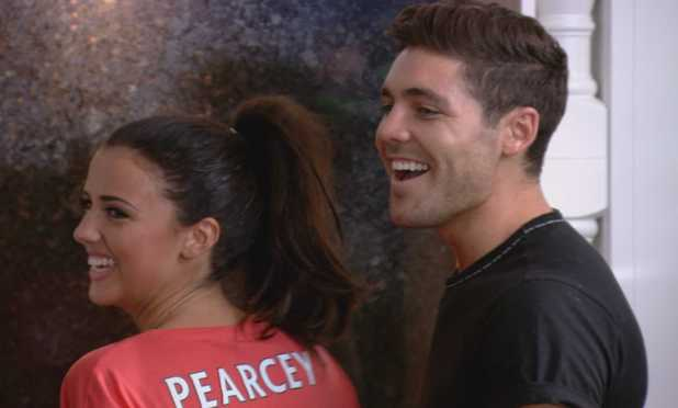 TOWIE episode (Wednesday 16th October 2013) Lucy Mecklenburgh and Tom Pearce spend the night together