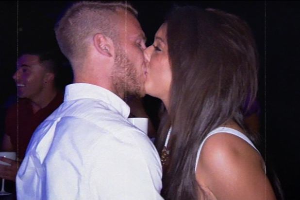 Geordie Shore's Charlotte Crosby and boyfriend Mitch - episode 5. October 2013