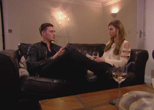TOWIE episode (Wednesday 16th October 2013) Ferne McCann and Charlie Sims discuss their relationship