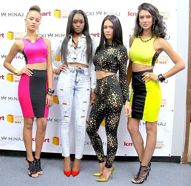 Nicki Minaj  launches Kmart clothing collection in LA - 15.10.2013