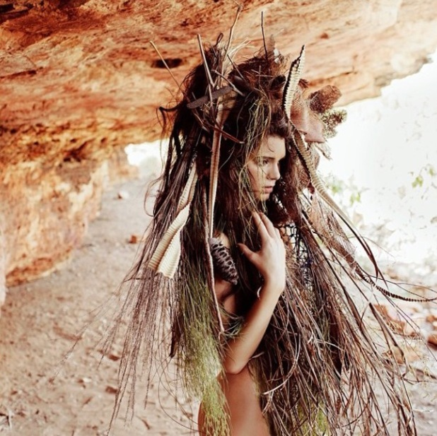 Kendall Jenner photoshoot for Nomad