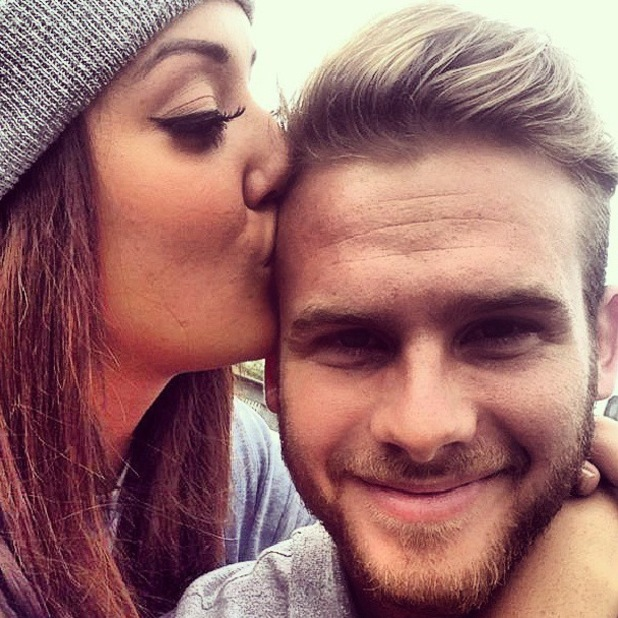 Geordie Shore's Charlotte Crosby kisses boyfriend Mitch Jenkins - October 2013