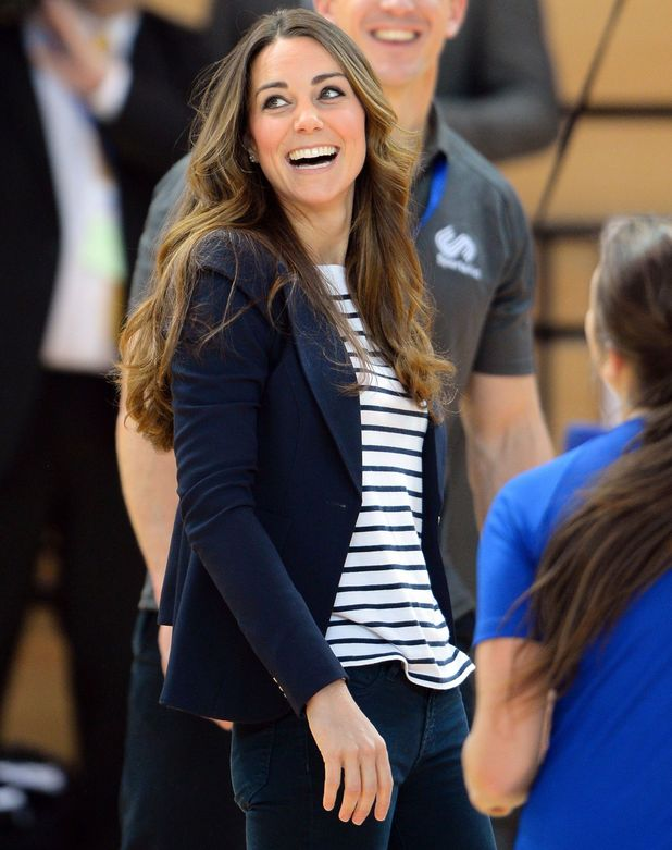 Catherine Duchess of Cambridge visits the SportsAid Athlete Workshop, Copper Box, Olympic Park, Stratford, London, Britain - 18 Oct 2013