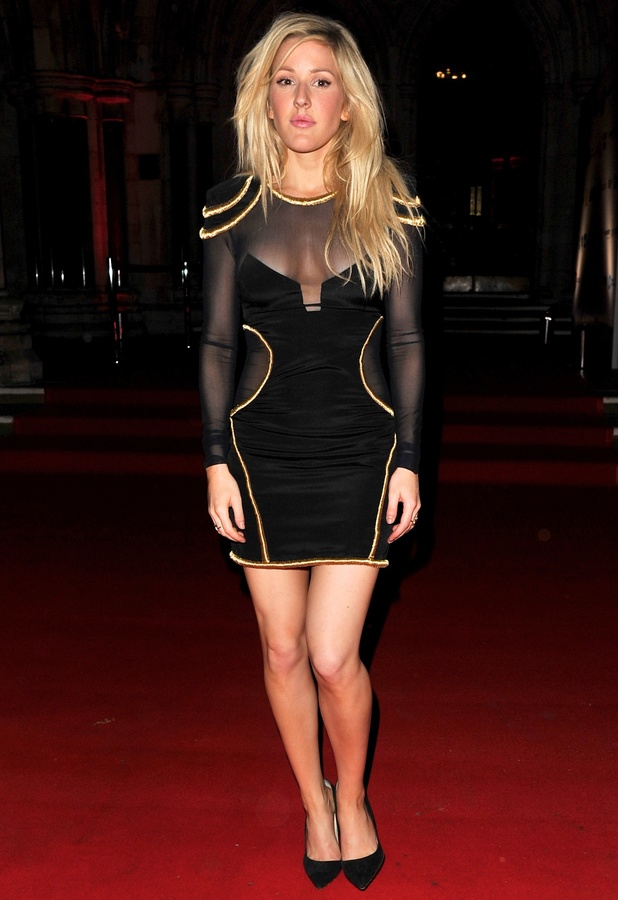 Ellie Goulding at the Attitude Awards in London, 15 October 2013