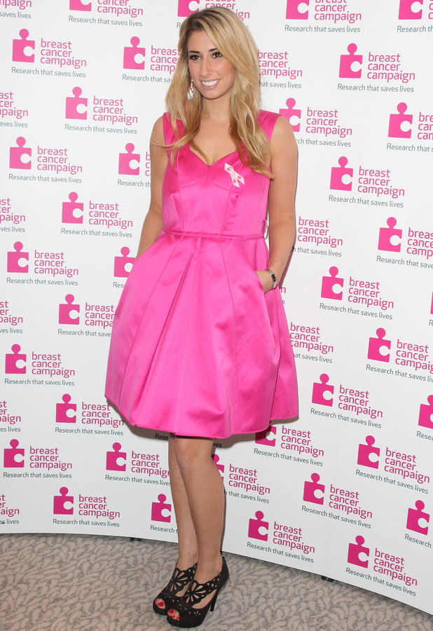 Stacey Solomon - Pink Ribbon Ball in aid of Breast Cancer Campaign at the Dorchester Hotel Park Lane London, 12 October 2013