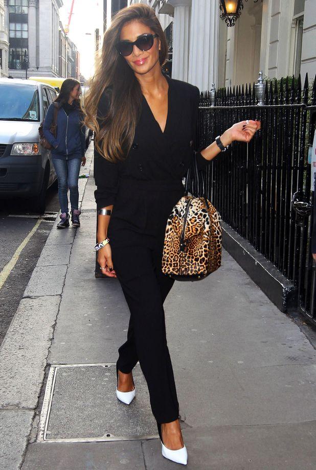 Nicole Scherzinger in London, 15 October 2013