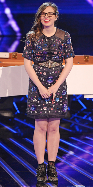Abi Alton on X Factor Live Shows 12 October 2013