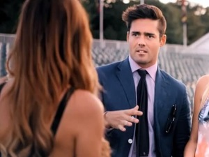 Made In Chelsea episode 2 - Monday 21 October Lucy Watson, Spencer Matthews and Stephanie Pratt
