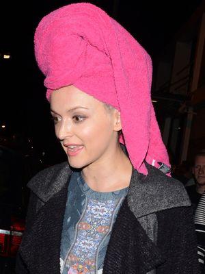 'Celebrity Juice' TV show, departures, London, Britain - 23 Oct 2013 Fearne Cotton