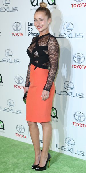 Hayden Panettiere - Environmental Media Awards, Los Angeles, America - 19 Oct 2013
