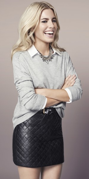 Mollie King models collection for Oasis