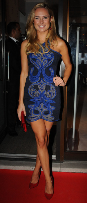 Kimberley Garner - Herve Leger by Max Azria Barbie doll launch in London, 23 October 2013