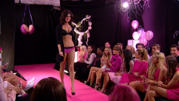 Lucy Mecklenburgh hits the runway for charity, TOWIE, episode 27 October
