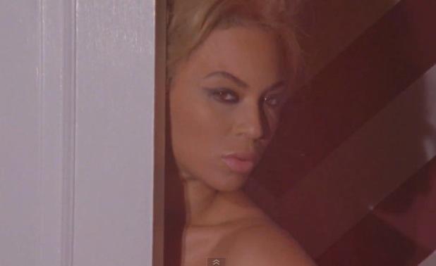 Beyoncé in The Making of the Beyoncé 2014 Official Calendar