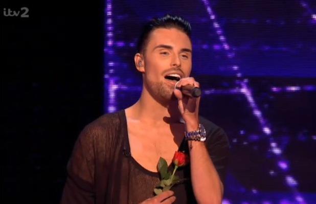 Rylan Clark on The Xtra Factor (20 October)