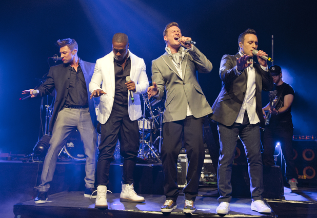 Blue, Lee Ryan, Simon Webbe, Duncan James, Antony Costa Credit :	Carsten Windhorst/WENN.com Date Created : 05/03/2013 Location : London, United Kingdom