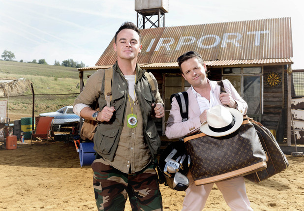 Ant and Dec I'm A Celebrity...Get Me Out Of Here! promotional pictures - October 2013