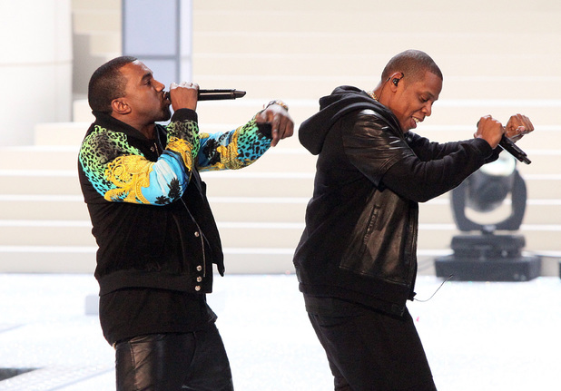 Kanye West and Jay-Z 2011 Victoria's Secret Fashion Show at the Lexington Avenue Armory - Performance - 9.11.2011