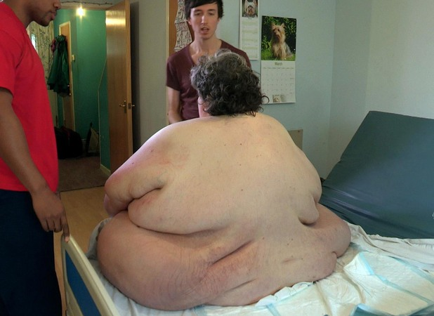Keith weighs a staggering 70 stone