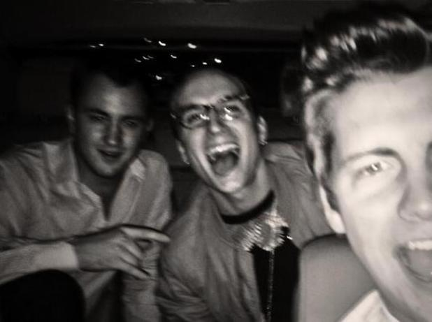 Made In Chelsea's Francis Boulle and Oliver Proudlock celebrate their birthdays with Stevie Johnson